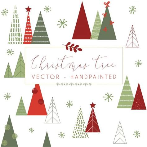 christmas tree pattern vector 1474 best christmas illustration images on pinterest