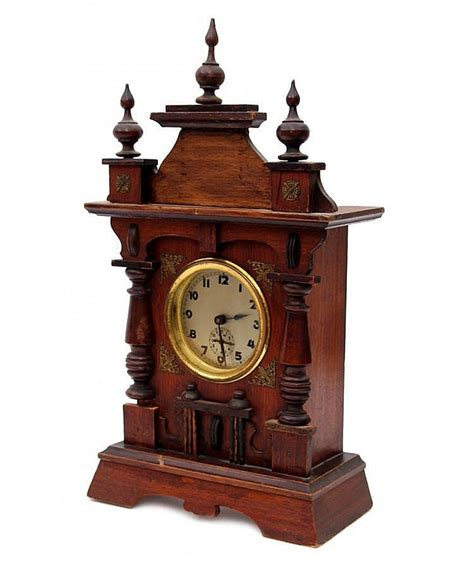 Small Desk Clock A Small Table Clock With Alarm Historicism