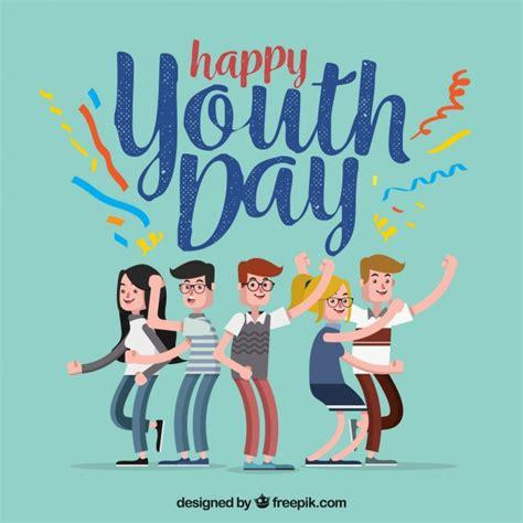 imagenes feliz dia de la juventud fondo de feliz d 237 a de la juventud con chicos divirti 233 ndose