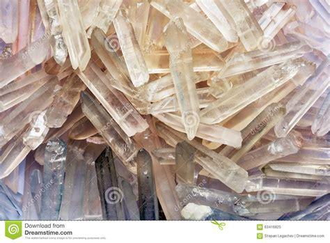 quartz crystals backdrop stock photo image 63416825
