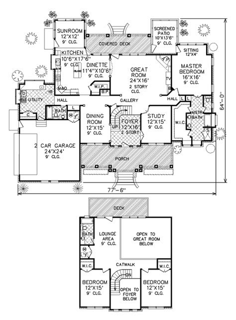 perry home plans floor plan 7601
