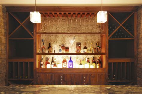 new york home design center bar traditional basement new york by home