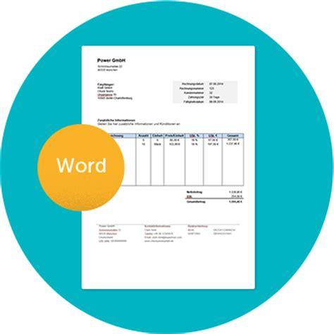 Kostenlose Vorlagen Word Rechnung Kleinunternehmer Kostenlose Vorlage In Word
