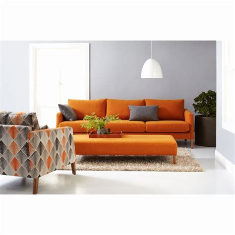 brown and orange sofa the 25 best orange sofa ideas on pinterest orange sofa