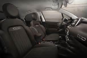 Fiat 500 X Interior 2016 Fiat 500x Lounge Front Interior Photo 9