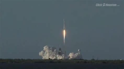 spacex launches   recycled rocket  historic leap