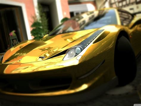 gold ferrari wallpaper gold ferrari 458 italia wallpaper allwallpaper in 8211