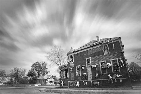 doll house detroit the stuffed animal doll house at the heidelberg project detroit michigan bw