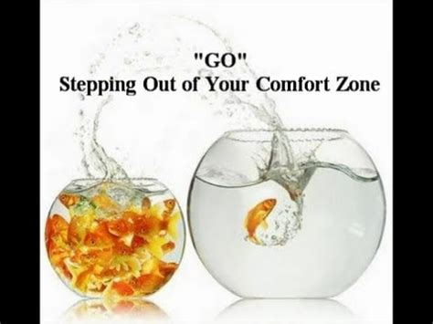 stepping out of your comfort zone exles quot go quot stepping out of your comfort zone youtube