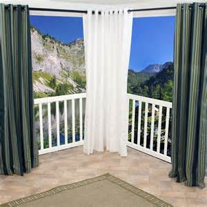stunning outdoor curtain rods canada curtain door 12 ft