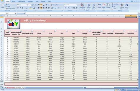 product inventory spreadsheet with free client contact sheet sales