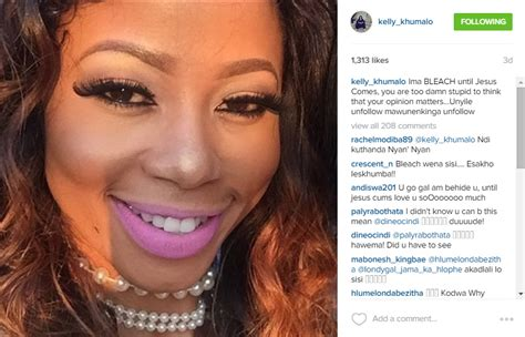 kelly khumalo what skin bleaching she use jozi gist kelly khumalo says she will bleach until jesus