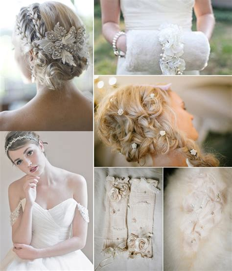winter wedding trends 2014 tulle chantilly wedding