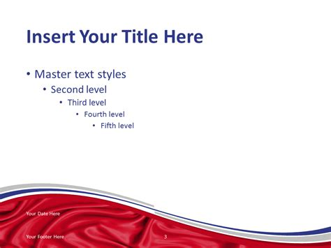 russia flag powerpoint template presentationgo com