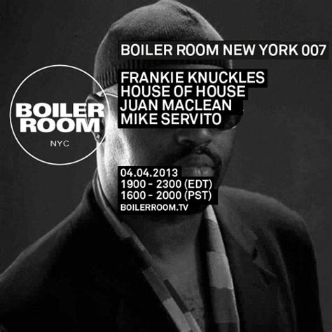 frankie knuckles boiler room frankie knuckles boiler room nyc dj set by boiler room free listening on soundcloud
