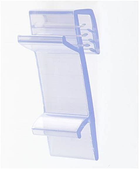 Plastic Shelf Talker Holders by This Shelf Talker Clip Is Ideal For A Pop Display These