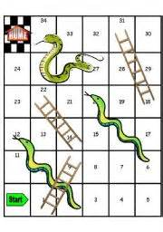 printable snakes and ladders template teaching worksheets snakes and ladders