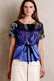 callia silk cocoon blouse