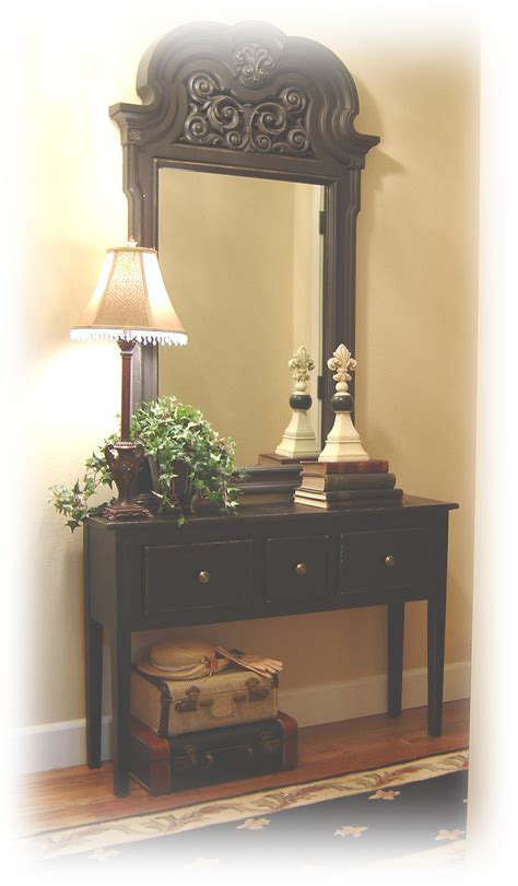 Table By Front Door Magnificent Front Door Tables Front Door Tables End Of Hallway Tables Decor Door Design