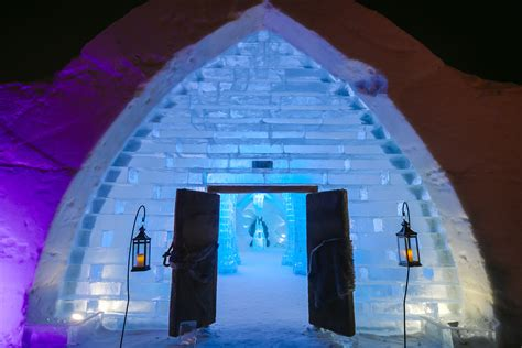 hotel de glace ice cold design at h 244 tel de glace materia
