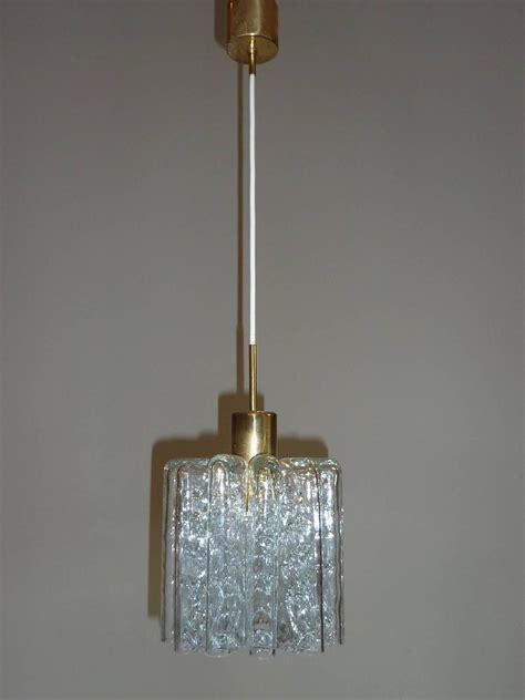Organic Lighting Fixtures Pair Of Doria Petit Organic Glass Light Fixtures Pendants For Sale At 1stdibs