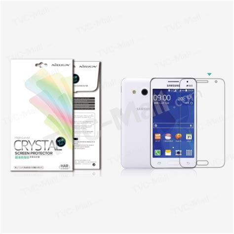Screen Protector Samsung Galaxy 2 G355h Clear View great samsung galaxy 2 dual sim sm g355h screen protectors tvc mall