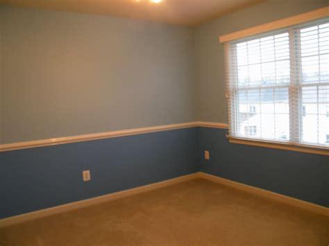 blue chair rail chiar rails for nursery room bedroom