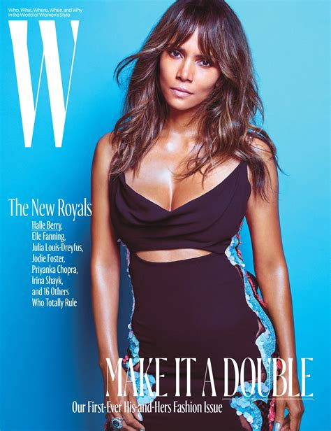 Magazine Bosses Back At Halle Berry by Halle Berry W Magazine Cover 2016 01 Gotceleb