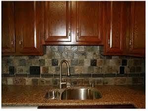 Rustic Kitchen Backsplash Ideas rustic backsplash for kitchen gloss brown stained wood cabinet system