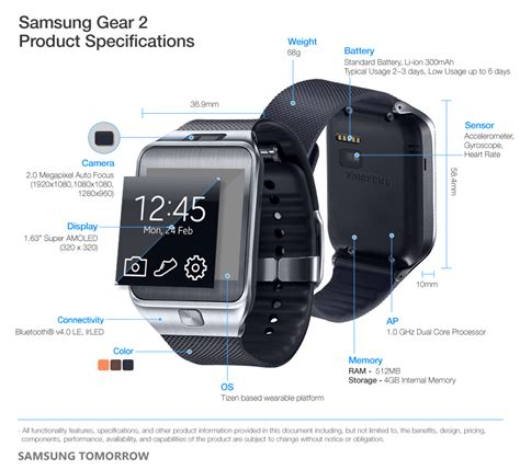 samsung galaxy gear 2 187 samsung unveils new wearable devices gear 2 gear 2 neo