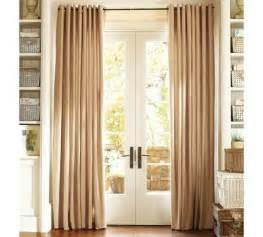 French door curtains to spice up plain doors