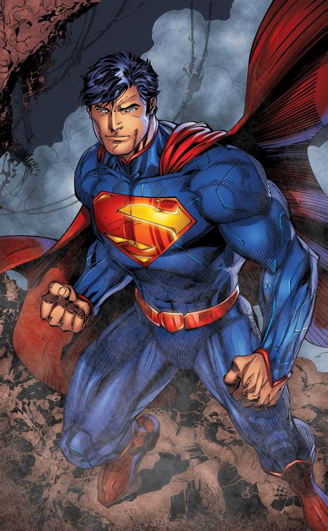 painting superman jl page by jim lee scott williams and by frst xgx by