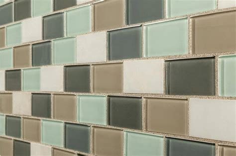Glass Backsplash by Take A Ride Subway Tile Works Wherever You Want It To Go