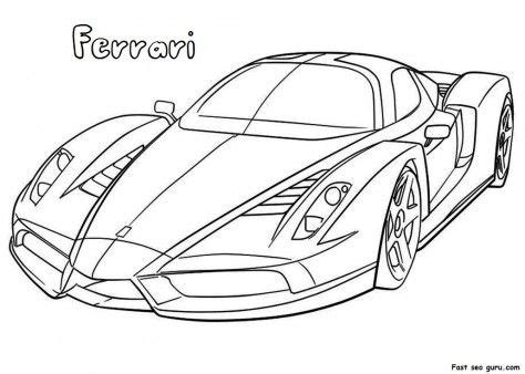 coloring pages of fast cars cars fast cars and activities on pinterest