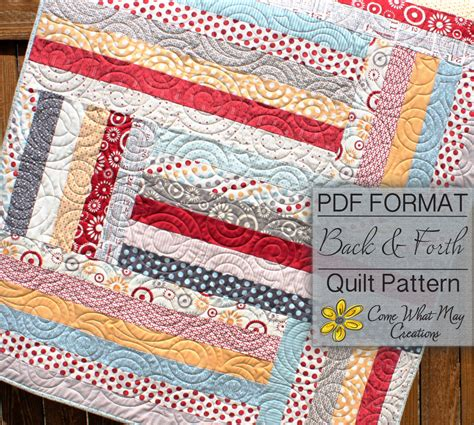 baby quilt pattern jelly roll quilt pattern back forth