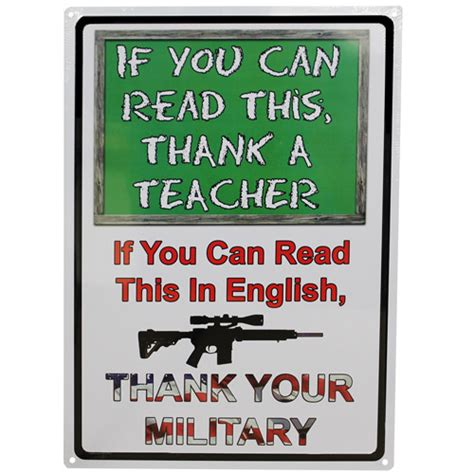 if you can read gifts rivers edge products if you can read this sign tin sign 1511