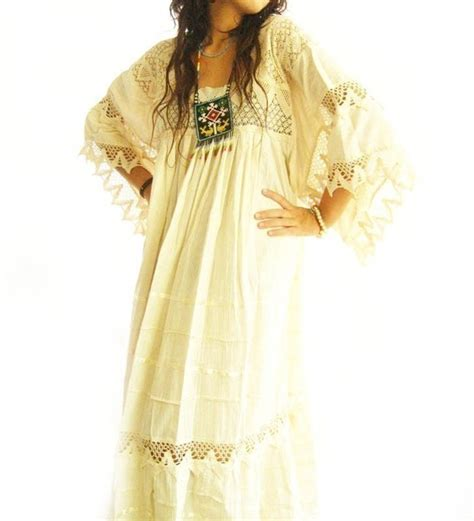 Bohemian Maxi Dress Boho Hippies Hippie Vintage Retro 1 add express shipping for your mexican maxi dress vintage excellent condition
