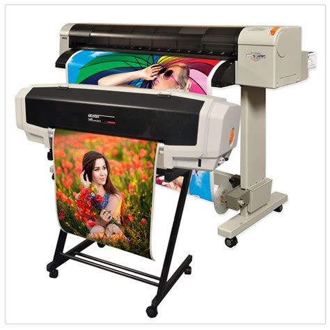 printing vinyl on inkjet sign making equipment vinyl cutters color printers