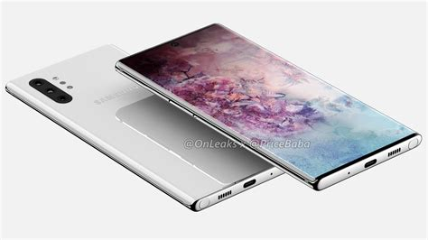 samsung galaxy note 10 pro leak based renders show lack of bixby button 3 5mm headphone