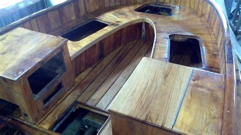 boat interior restoration joest boats wood boat repair
