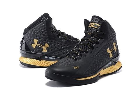 black and gold armour basketball shoes s for sale stephen curry one mid armour