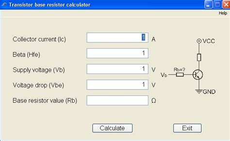 voltage resistor calculator electronic workbench with board tehnik service