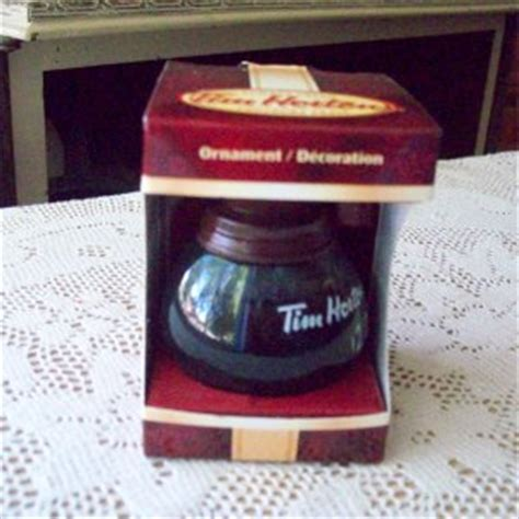 tim hortons coffee pot christmas ornaments 2010