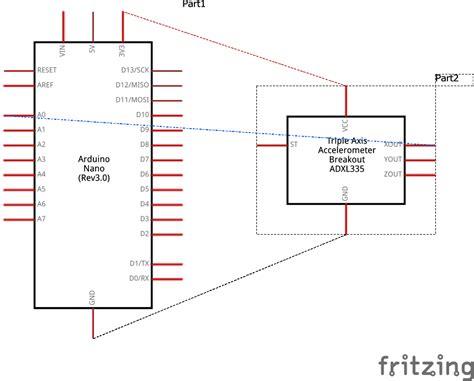 Accelerometer Pin Diagram ping pong using arduino and accelerometer