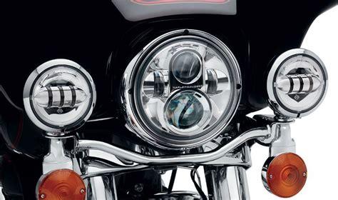 harley led light harley davidson daymaker led headlights autoevolution