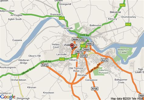 map of waterford city days hotel waterford city waterford deals see hotel