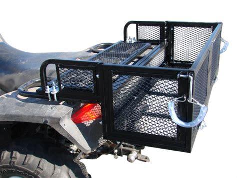 Atv Drop Basket Rack by Universal Atv Utv Drop Rear Steel Cargo Luggage