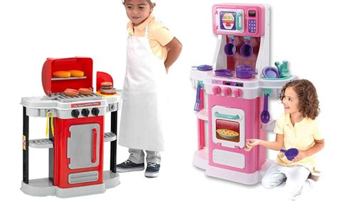 Chillin Grillin Kitchen Play Set My Grillin Bbq Or My Cookin Kitchen Play Set