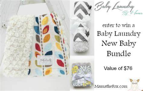 New Baby Giveaways - mamathefox baby laundry new baby bundle giveaway