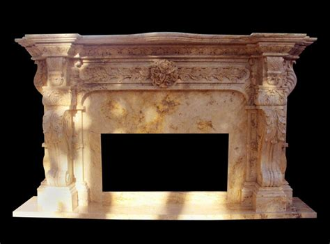 Carved Fireplace by Carved Italian Marble Fireplace Surround Custom In